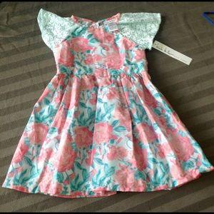 Nicole Miller Kids Floral Dress Size 4T